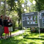 Im Gespräch mit dem LVZ-Fotografen und Beurteilung der Fotoausstellung.