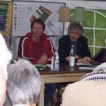 BV-Borsitzender Axel Kalteich und Baubürgermeister Martin zur Nedden